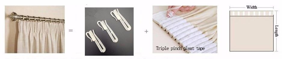 How to measure curtain size? Pull Pleated Tape Festivaloutlets.com